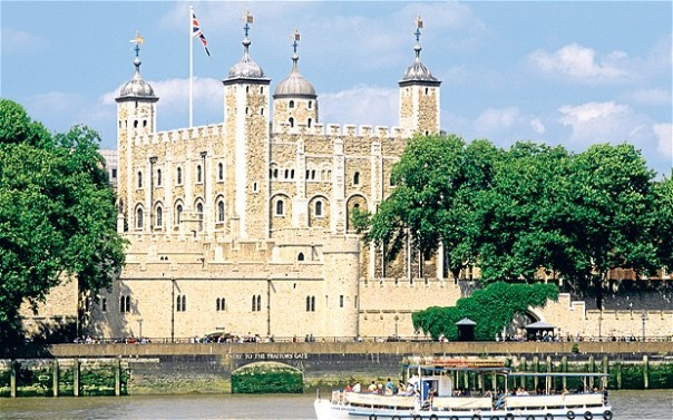 The Tower of London: still the main attraction, despite the Shard just across the river Photo: ALAMY