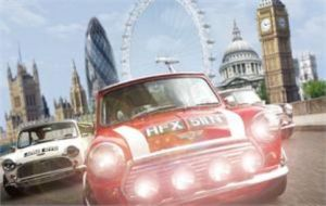 The Italian Job Mini Cooper London Tour