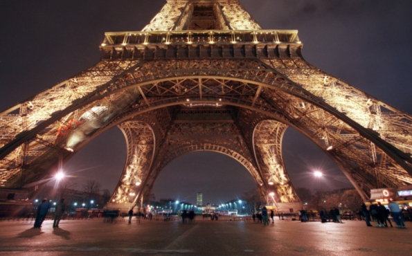 The Eiffel Tower. Picture: Getty