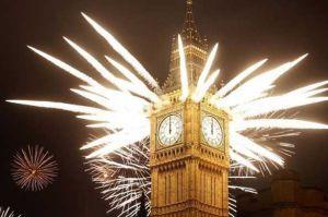 London New Year Fireworks
