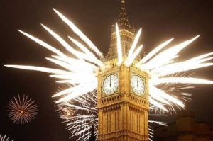 London New Year Fireworks