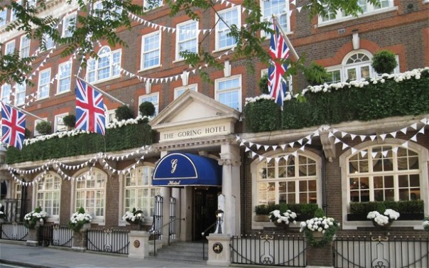 The Goring Hotel, this year's winner of The Tea Guild's top London afternoon tea Photo: Richard Booth