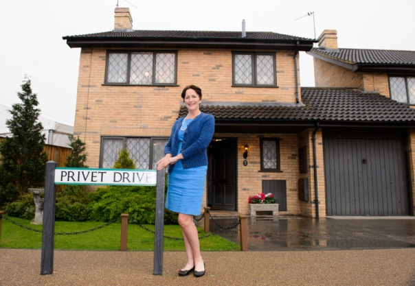 Number 4 Privet Drive Photocall, Leavesden. Herts. Britain